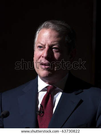 CHENNAI, INDIA - OCTOBER 20: Former United States President Al Gore, addressed a select gathering of cardiologists and cardio-vascular specialists in Chennai on October 20, 2010 in Chennai, India