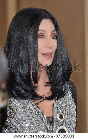 Cher at the 2010 AFI Life Achievent Award Gala, honoring director Mike Nichols, at Sony Studios, Culver City, CA. June 10, 2010  Los Angeles, CA Picture: Paul Smith / Featureflash