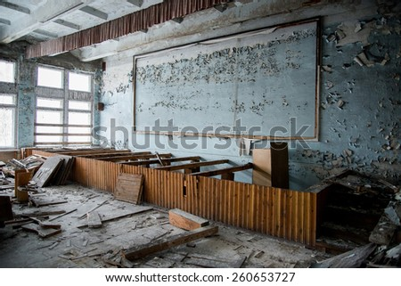 Chernobyl disaster, school of Pripyat