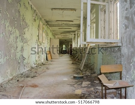 Chernobyl Exclusive Zone Prypiat Abandoned School