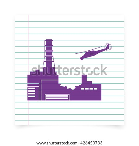 Chernobyl nuclear power station stock illustration 426450733 chernobyl nuclear power station ccuart Images