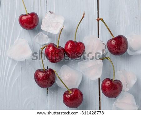 cherries - stock photo