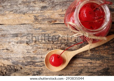 Cherries in syrup