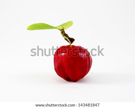 Cherry fruit with high Vitamin C