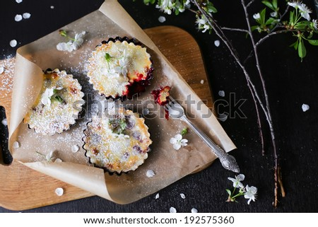 Cherry Pie - stock photo