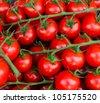 Cherry tomatoes close-up - stock photo