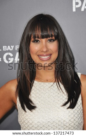 "Cheryl Burke at the Los Angeles premiere of ""Pain & Gain"" at the Chinese Theatre, Hollywood. April 22, 2013  Los Angeles, CA"