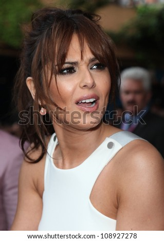 Cheryl Cole arriving for the UK Premiere of 'What To Expect When You're Expecting' at the Imax Cinema, London. 22/05/2012 Picture by: Alexandra Glen / Featureflash - stock photo