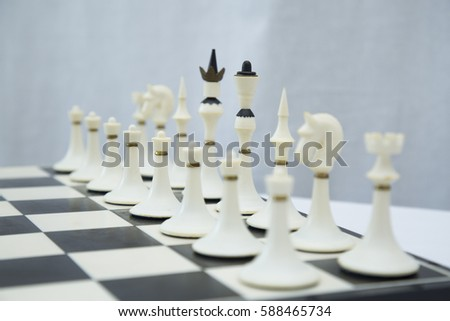 chess board and chess