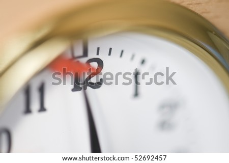 chess clock - stock photo
