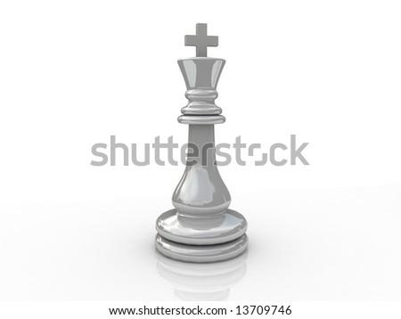 Chess figure - stock photo