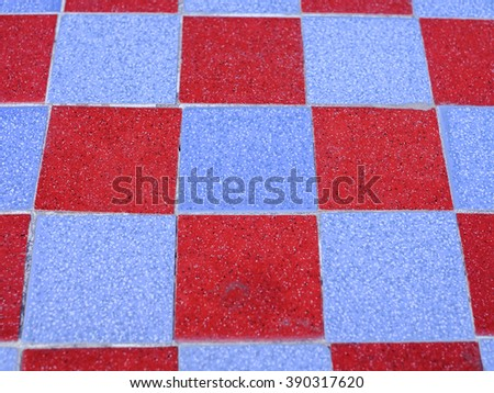 Chess floor - stock photo
