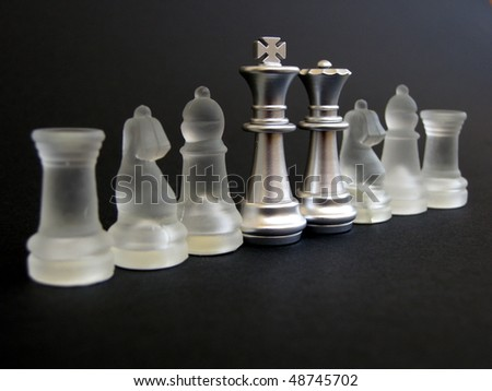 Chess Glass Pieces