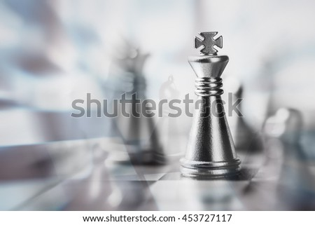 Chess. Macro image with small depth of field.