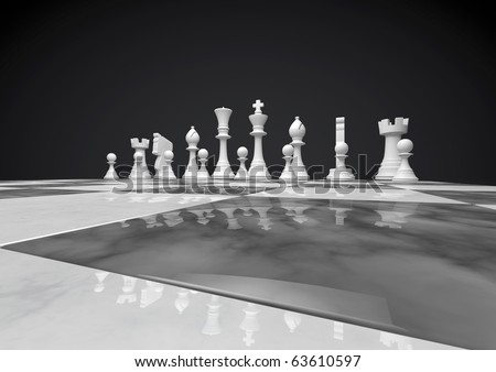 chess white set