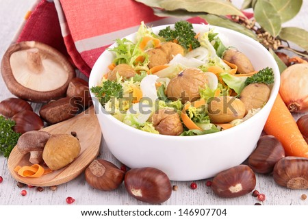 chestnut salad