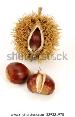 Chestnuts with pan