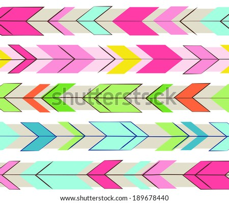 Chevron Arrows - stock photo