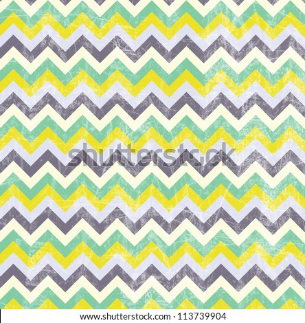 Yellow chevron pattern background