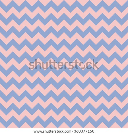 Chevron seamless pattern background. Rose quarts and serenity colors.