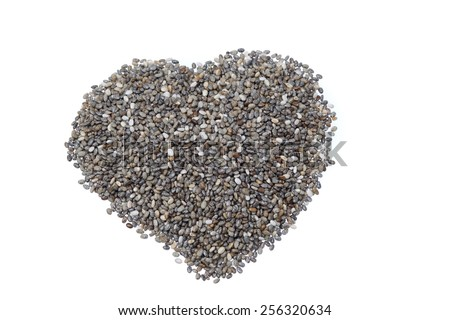 chiaseed superfoods - stock photo