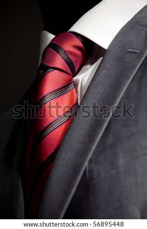 Chic and stylish suit for businessman - stock photo