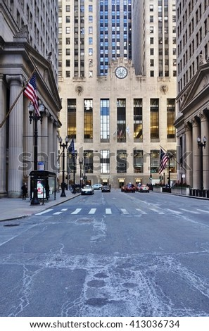CHICAGO, IL -19 JAN 2016- The Chicago Board of Trade is the oldest futures and options exchange in the world. It is located in the landmark historic CBOT building on West Jackson Boulevard in Chicago.