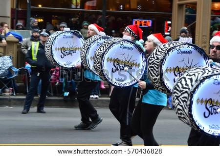 Drumline Stock Images Royalty Free Vectors