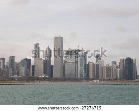 Chicago Skyline - stock photo