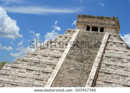 Chichen Itza is one of the new seven wonders of the world on Mexico's Yucatan Peninsula.