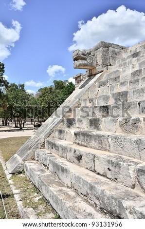 Chichen Itza - Mayan ruins, Mexico - stock photo