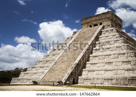 Chichen Itza, Yucatan Peninsula, Mexico - stock photo