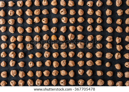 Chick-pea pattern background