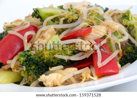 chicken asian stir-fry