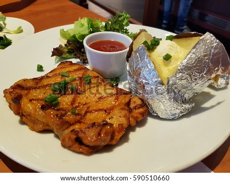 Steak Dinner Stock Images, Royalty-Free Images & Vectors ...