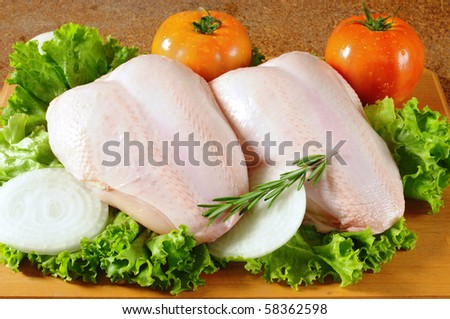 Chicken breast. - stock photo
