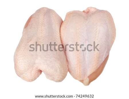 chicken breast - stock photo