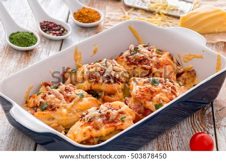 Baked Chicken Breast Stock Images, Royalty-Free Images ...