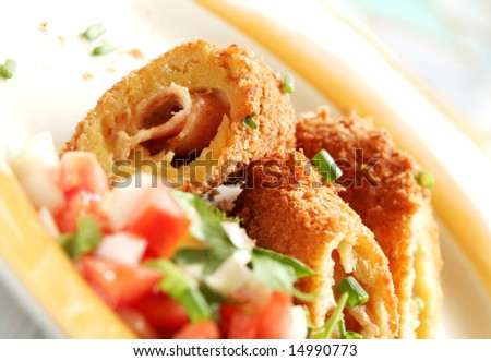 Chicken Cordon Bleu with Side Dish