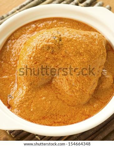 Chicken Curry Non sharpen - stock photo