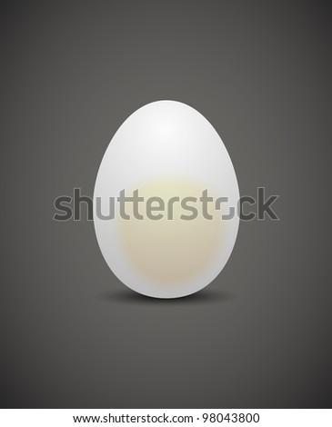 chicken egg, jpg - stock photo