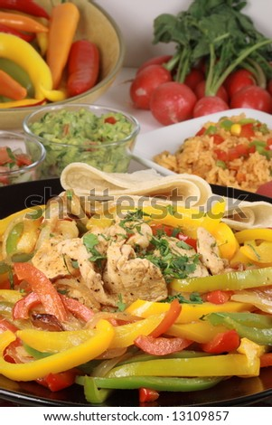 chicken fajitas flavorful and colorful all acasion meal