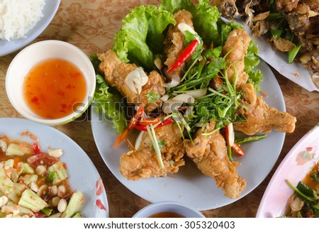 chicken food my style