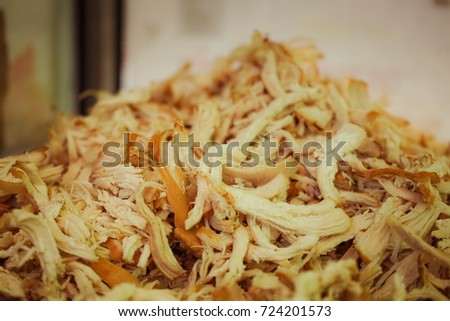 Chicken Used Component Chicken Noodle Soup Stock Photo 724201573