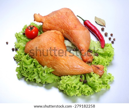 chicken legs - stock photo