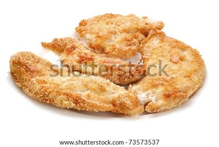chicken nugget - stock photo