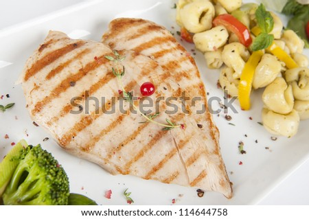 Chicken Plate, Grill White Meat