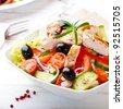 Chicken salad - stock photo