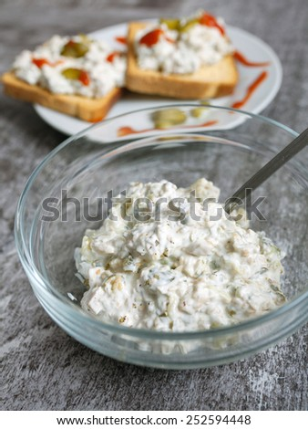 Chicken Salad Sandwich - stock photo