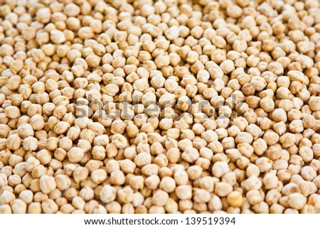 Chickpea also known as Garbanzo bean